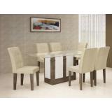 Mesa Amsterdã 06 cadeiras - Rufato